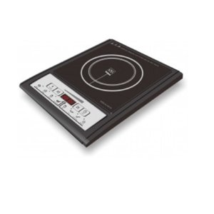 Индукционен котлон Sapir SP 1445 QG, Плоча от черна стъкло-керамика, LED екран, Мощност 2000W, Черен